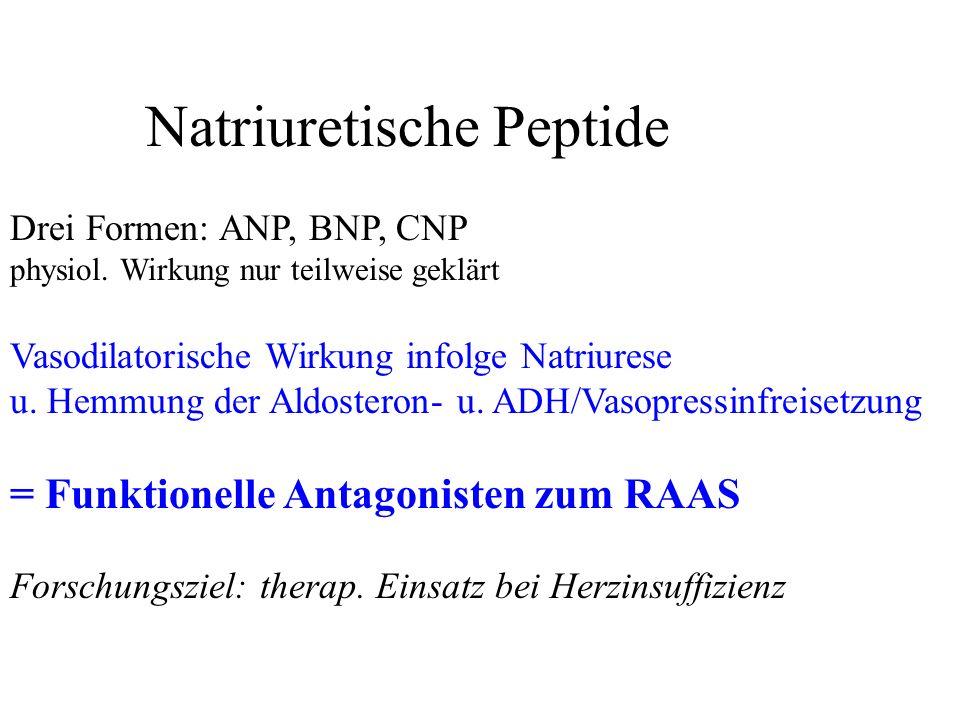 Natriuretische Peptide