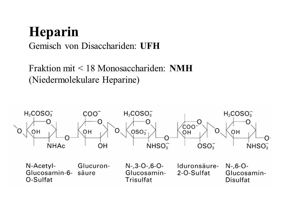 Heparin Gemisch von Disacchariden: UFH