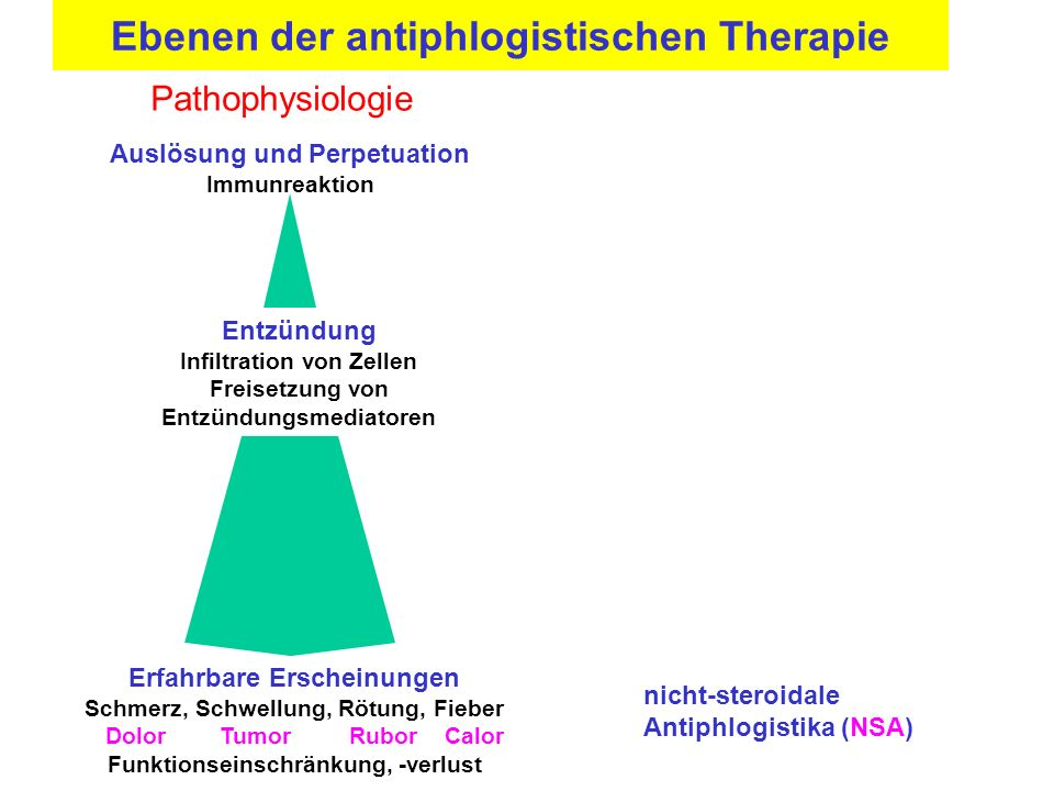 nicht steroidale antirheumatika wirkung
