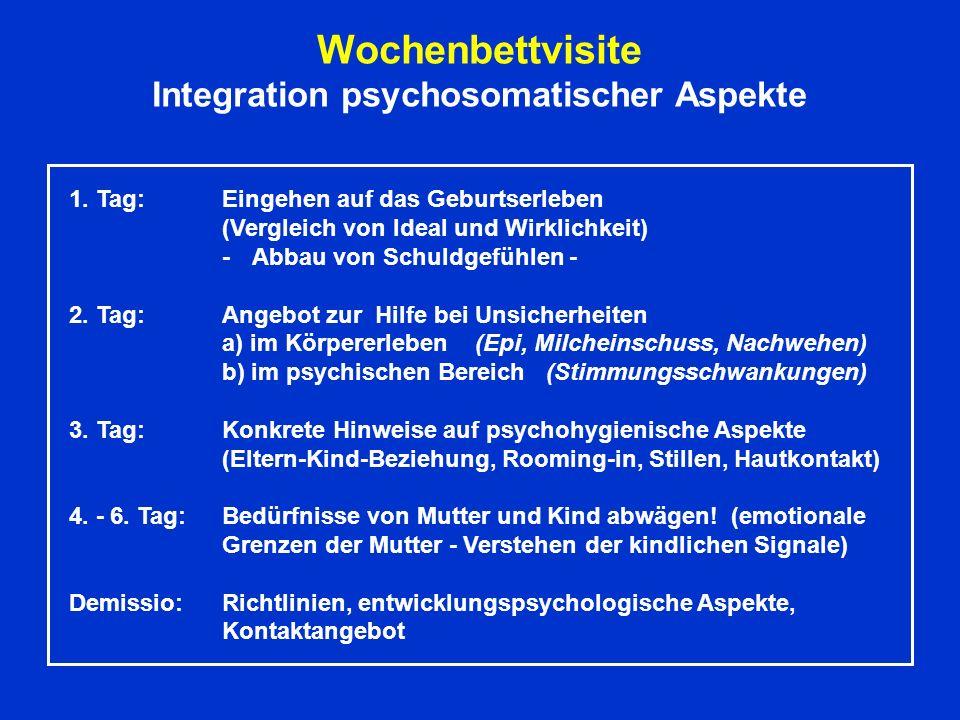 Integration psychosomatischer Aspekte