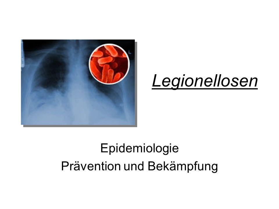 Epidemiologie Prävention und Bekämpfung