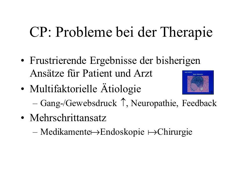 CP: Probleme bei der Therapie