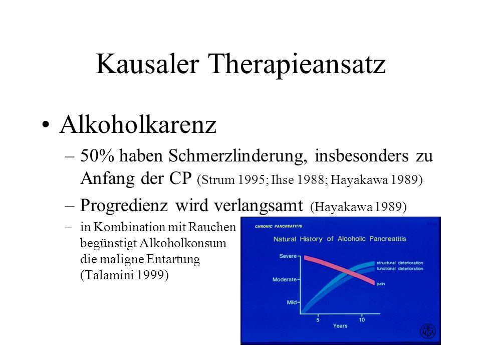 Kausaler Therapieansatz
