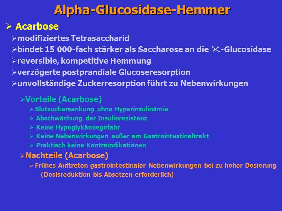 Alpha-Glucosidase-Hemmer