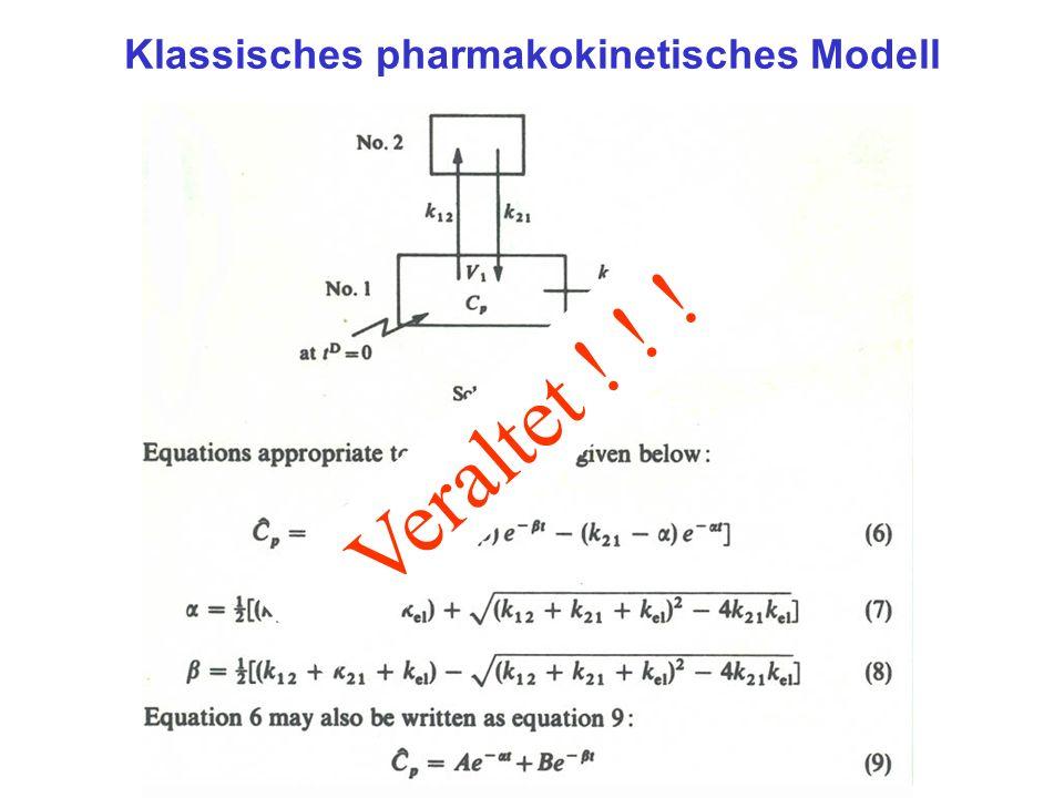 Klassisches pharmakokinetisches Modell