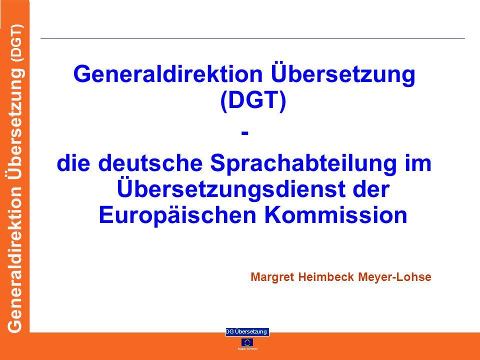 Generaldirektion Übersetzung (DGT)