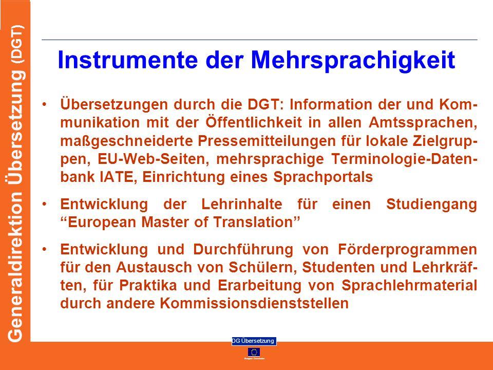 Instrumente der Mehrsprachigkeit