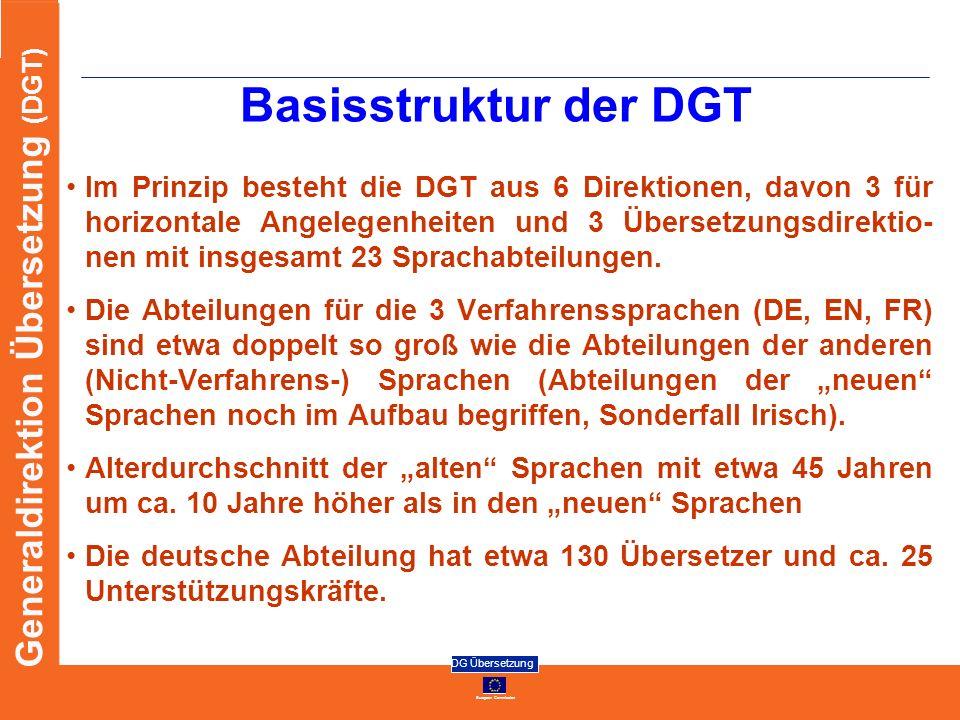 Basisstruktur der DGT