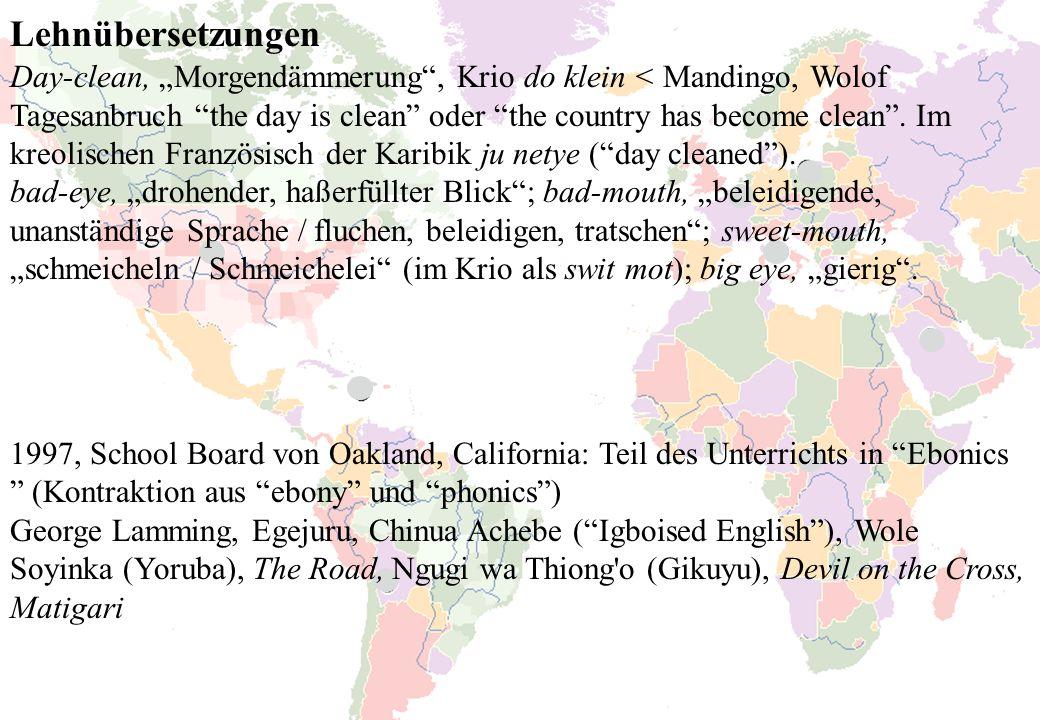 Lehnübersetzungen
