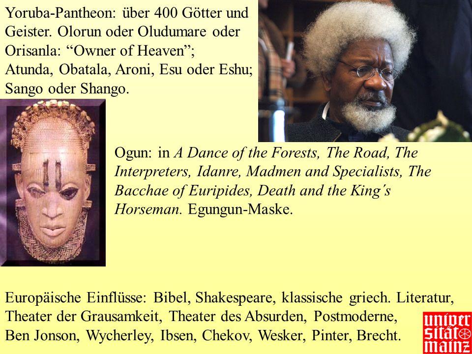 Yoruba-Pantheon: über 400 Götter und Geister