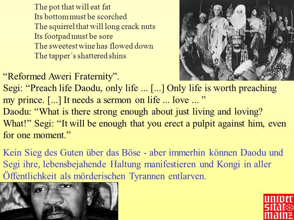 Reformed Aweri Fraternity .