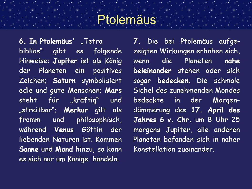 """Ptolemäus 6. In Ptolemäus """"Tetra"""