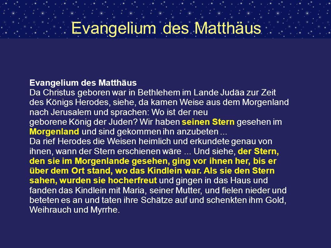Evangelium des Matthäus