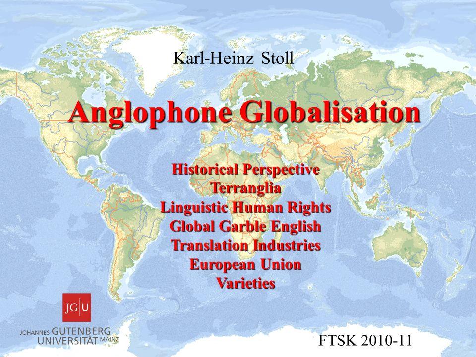 Anglophone Globalisation