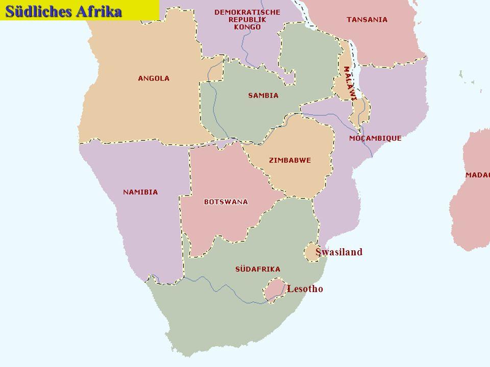 Südliches Afrika Swasiland Lesotho