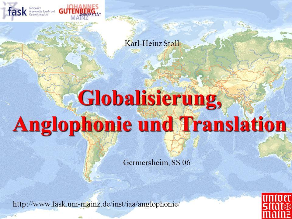 Anglophonie und Translation