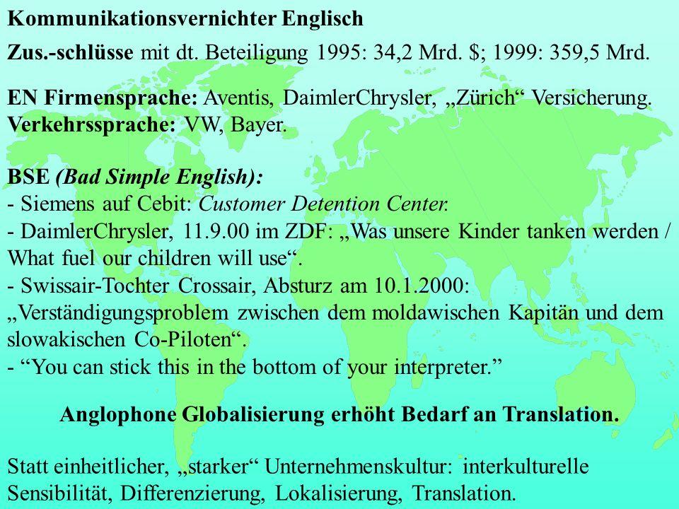 Kommunikationsvernichter Englisch