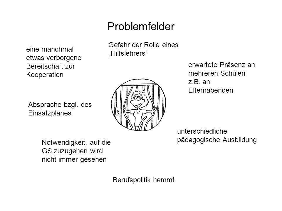 """Problemfelder Gefahr der Rolle eines """"Hilfslehrers"""
