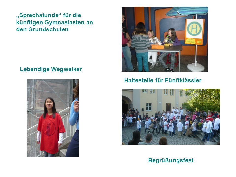"""""""Sprechstunde für die künftigen Gymnasiasten an den Grundschulen"""