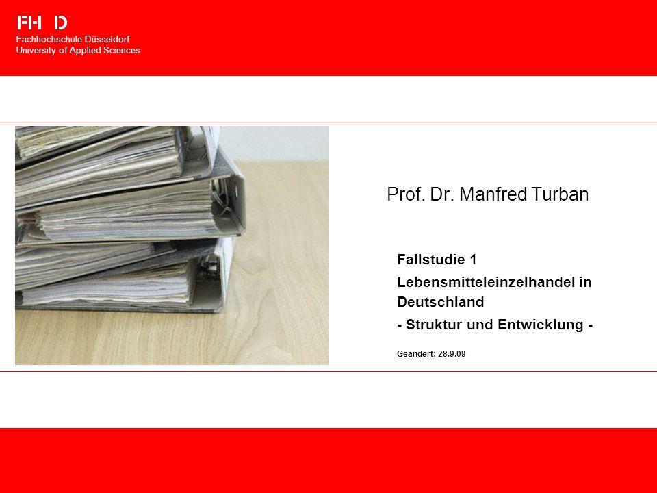 Prof. Dr. Manfred Turban Fallstudie 1