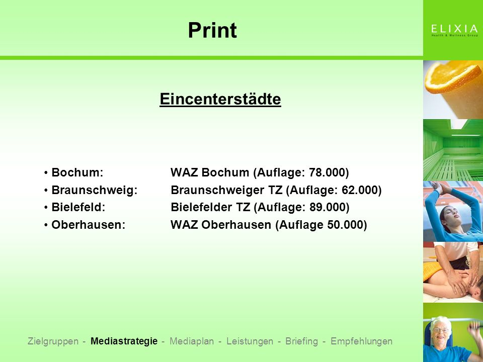 Print Eincenterstädte Bochum: WAZ Bochum (Auflage: 78.000)