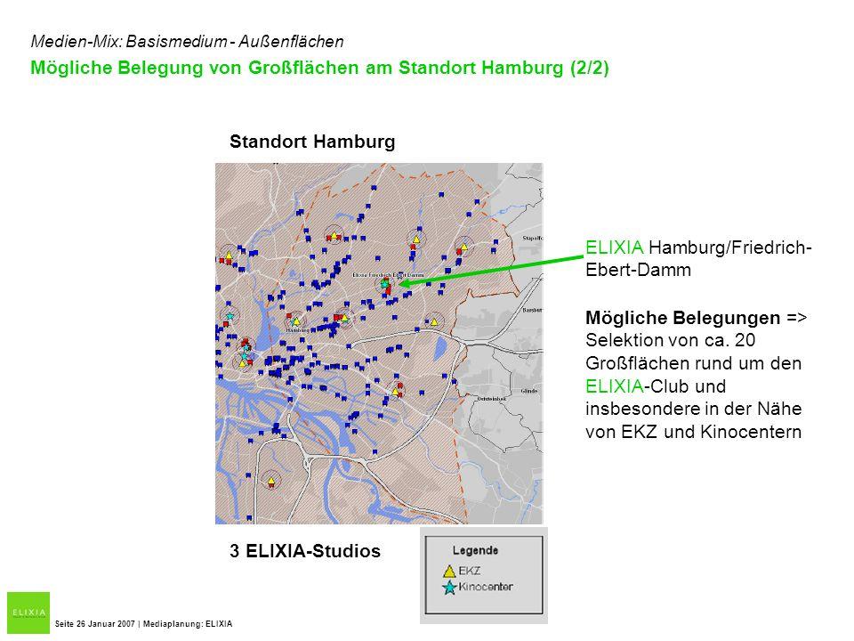 Mögliche Belegung von Großflächen am Standort Hamburg (2/2)