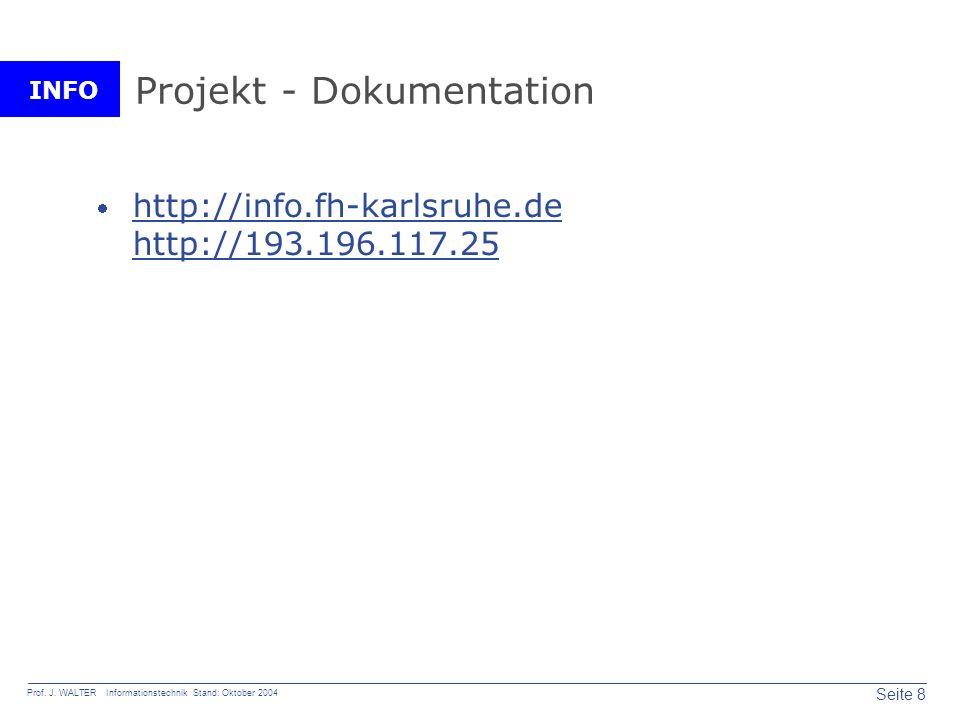 Projekt - Dokumentation