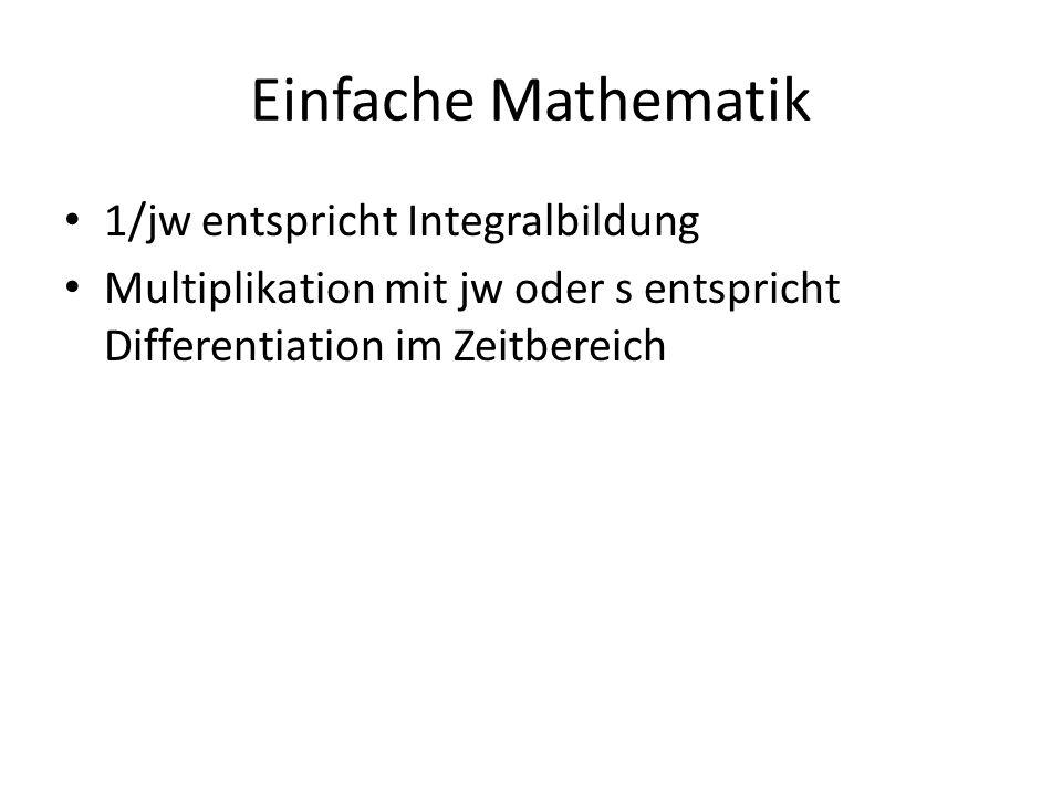 Einfache Mathematik 1/jw entspricht Integralbildung