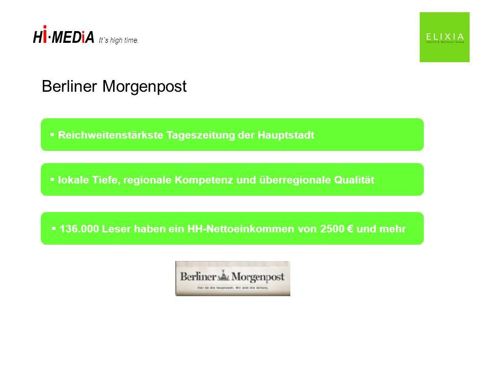 Berliner Morgenpost Reichweitenstärkste Tageszeitung der Hauptstadt