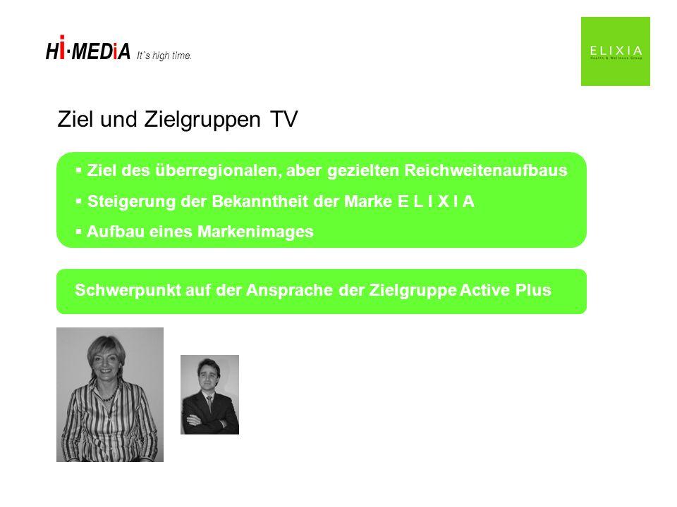 Ziel und Zielgruppen TV