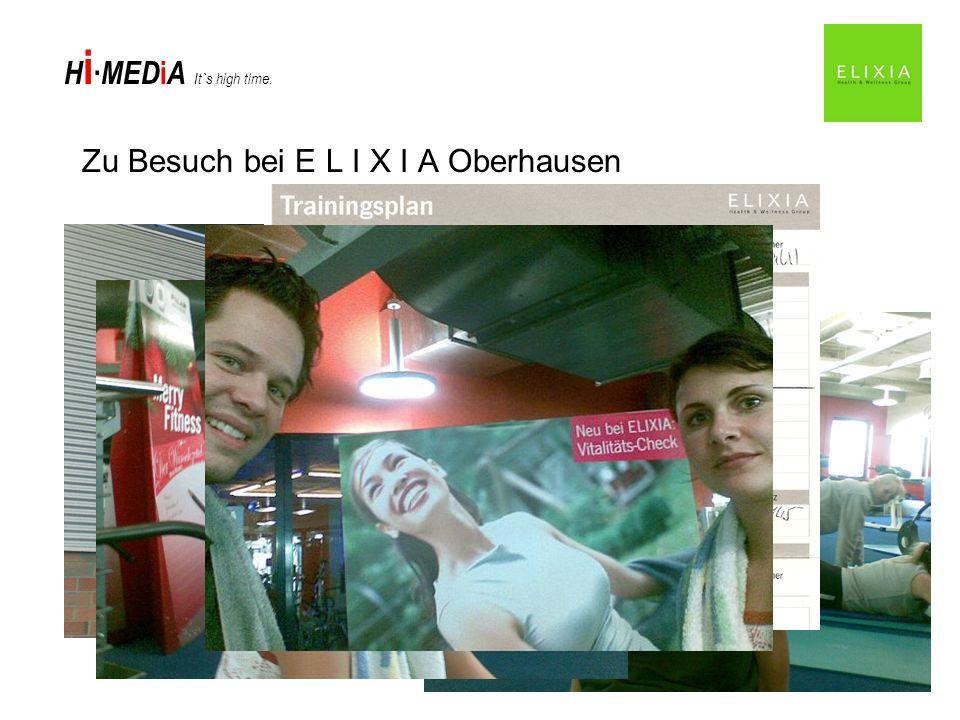 Zu Besuch bei E L I X I A Oberhausen