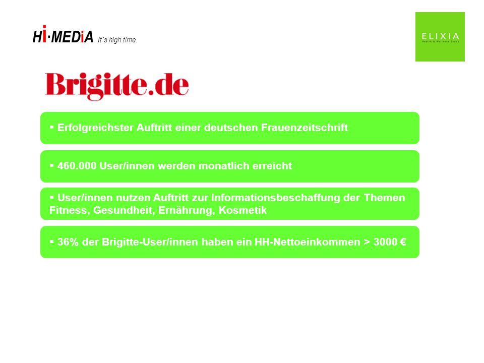 Erfolgreichster Auftritt einer deutschen Frauenzeitschrift