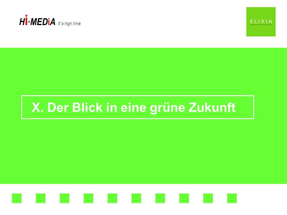 X. Der Blick in eine grüne Zukunft