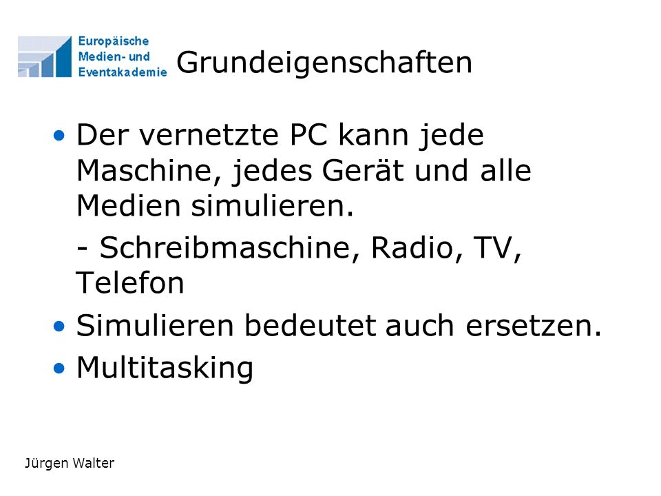 - Schreibmaschine, Radio, TV, Telefon