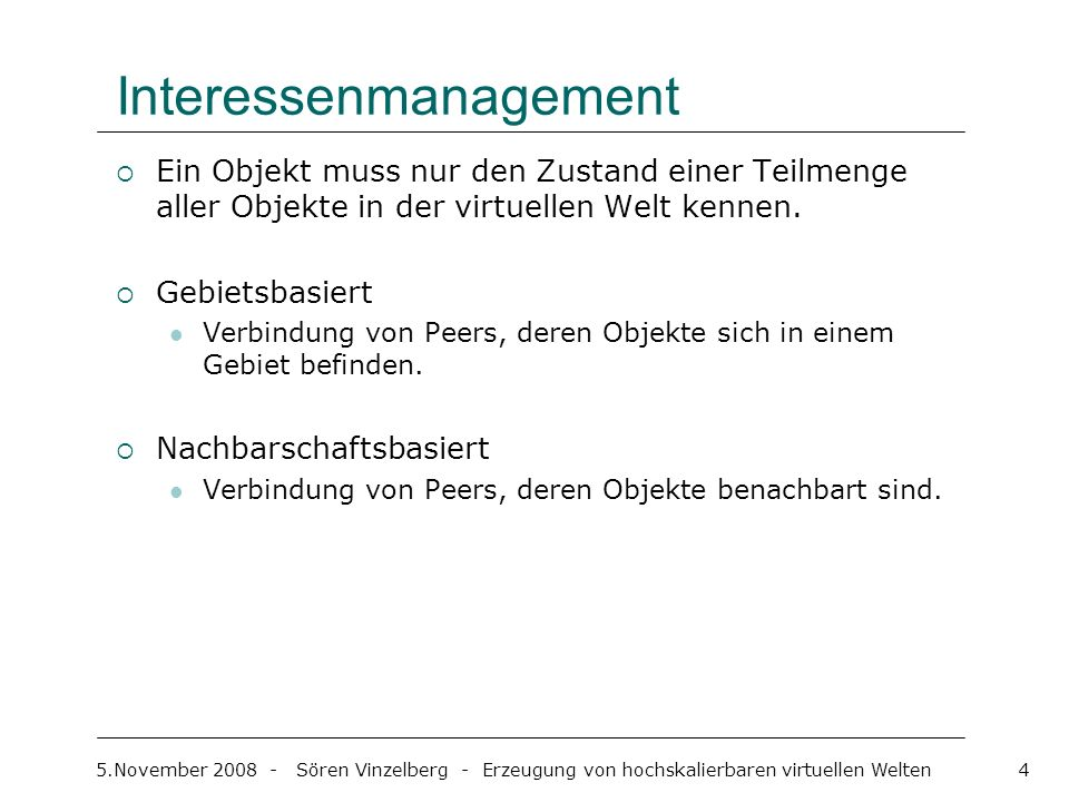 Interessenmanagement