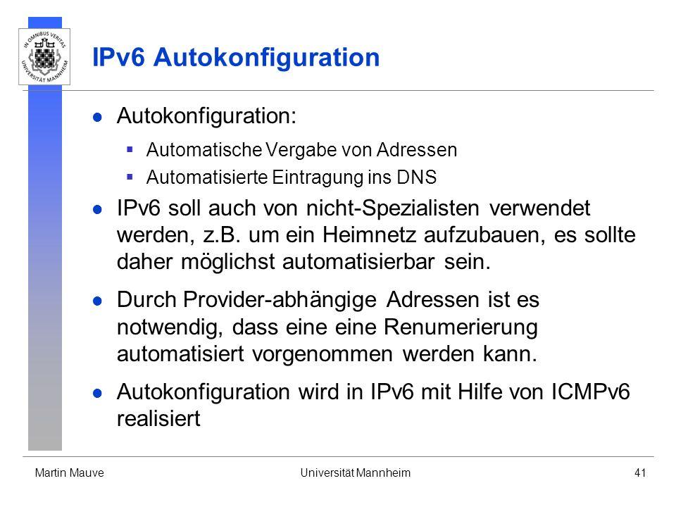 IPv6 Autokonfiguration