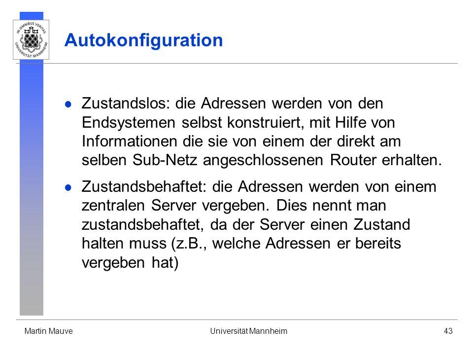 Autokonfiguration