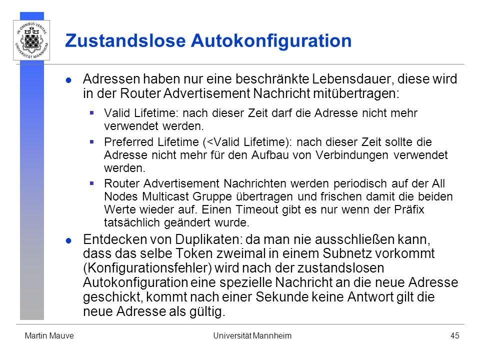 Zustandslose Autokonfiguration