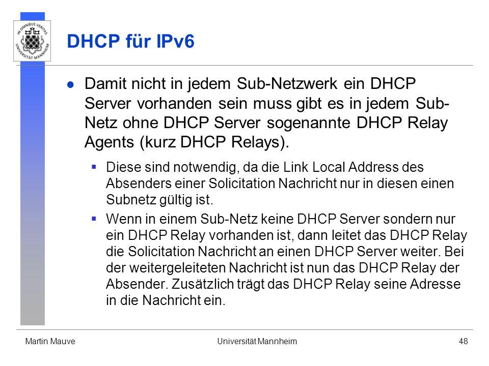 DHCP für IPv6
