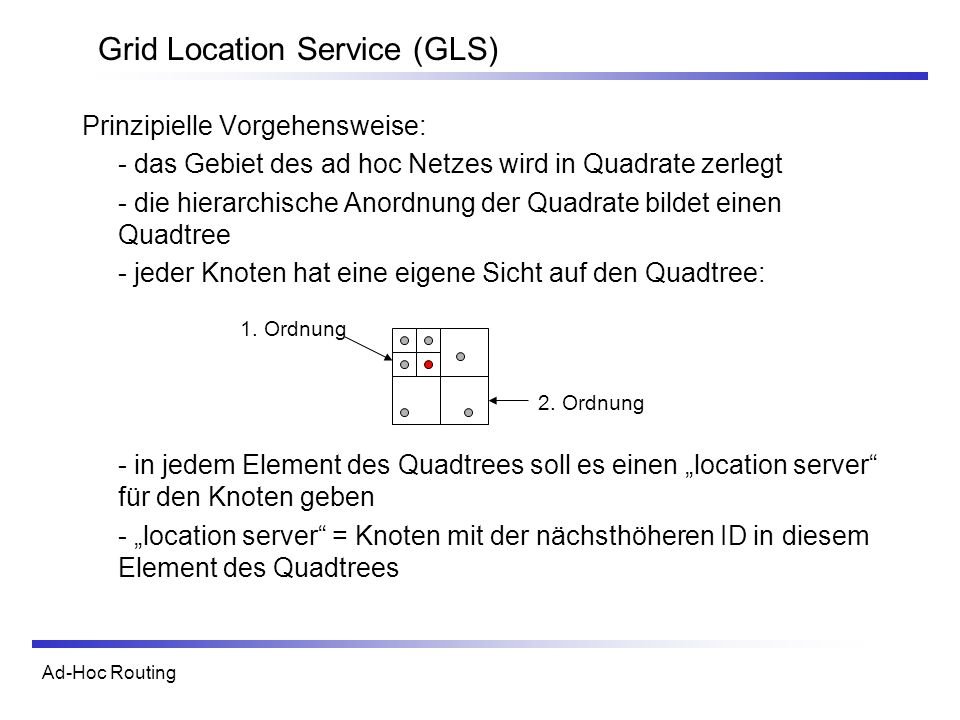 Grid Location Service (GLS)