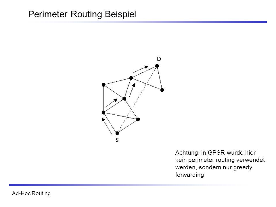 Perimeter Routing Beispiel