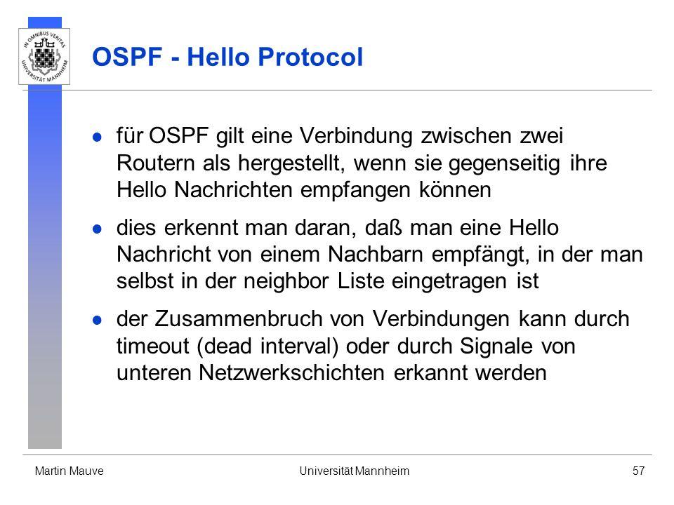 OSPF - Hello Protocol