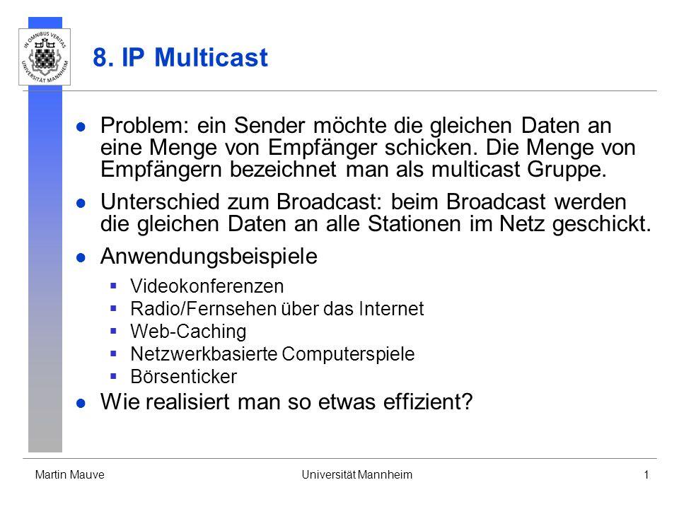 8. IP Multicast