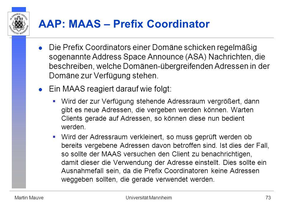 AAP: MAAS – Prefix Coordinator