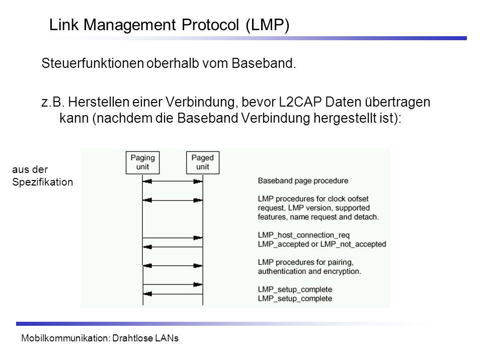 Link Management Protocol (LMP)