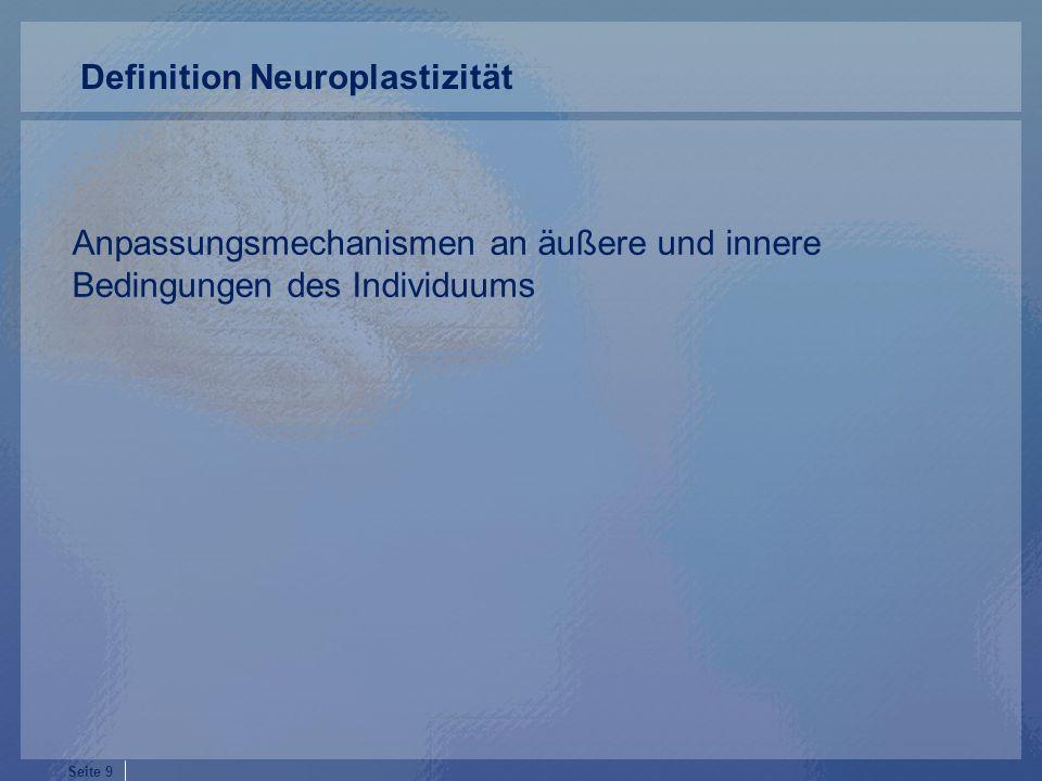 Definition Neuroplastizität