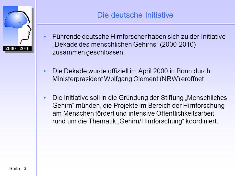 Die deutsche Initiative
