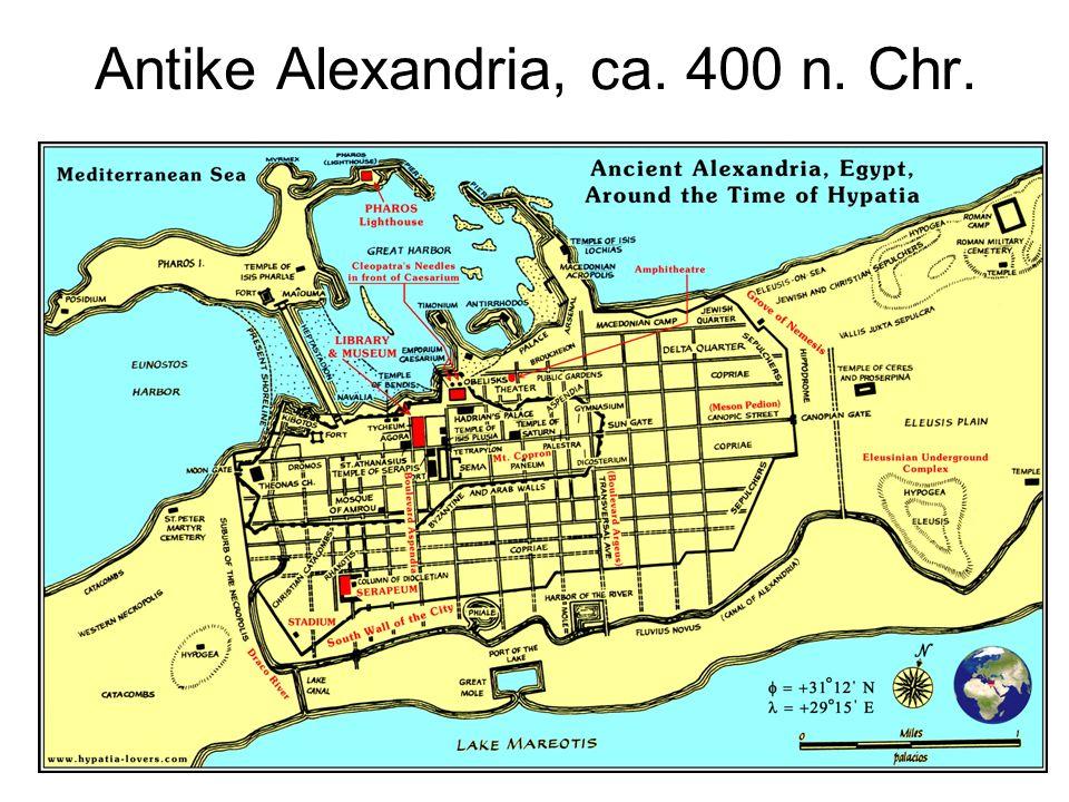 Antike Alexandria, ca. 400 n. Chr.