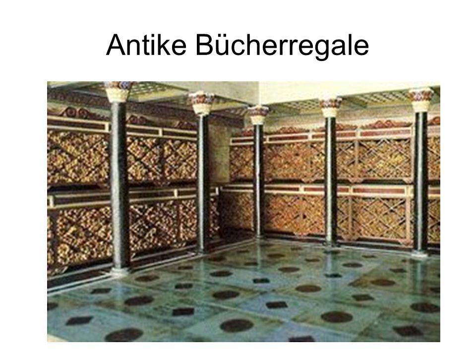 Antike Bücherregale