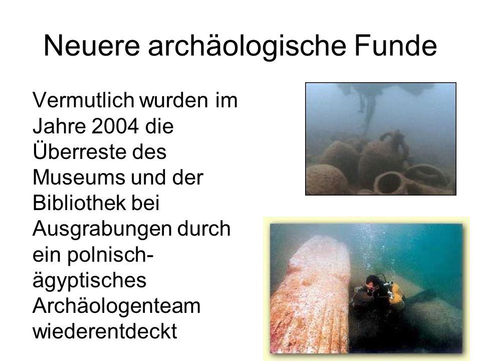 Neuere archäologische Funde